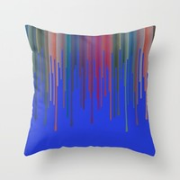vosak Throw Pillow by Trebam | Society6