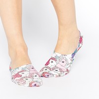 ASOS 2 Pack Footlets In My Little Pony Print