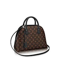 Tagre™ Authentic Louis Vuitton Monogram Canvas ALMA B'N'B Bag Handbag Noir Article: M41780 Ma