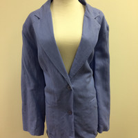 J G hook soft blue Blazer size-18