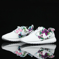 "Trendsetter ""NIKE"" Women Men Casual Flower Running Sport Shoes Sneakers"