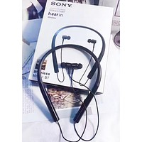 SONY Fashion New Women Men Wireless Bluetooth Noise Cancelling Headphones Headset