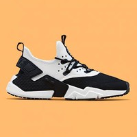 spbest NIKE - Men - Air Huarache Drift - Black/White