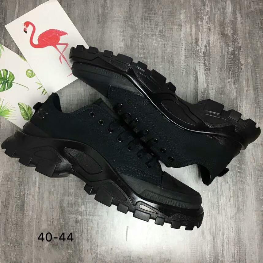 Image of RAF SIMONS X ADIDAS DETROIT RUNNER SNEAKERS shoes