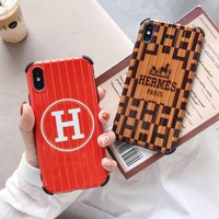Hermes Suitcase Style Protective iPhone Case