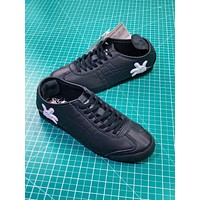 Asics Onitsuka Tiger Mexico66 Black Casual Shoes Sneakers - Sale