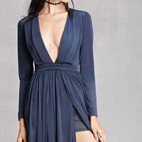 Girl In Mind M-Slit Maxi Dress