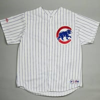 Mens Size XL Chicago Cubs Baseball Jersey Made In USA