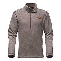 Men's Texture Cap Rock Pullover in Brunette Brown by The North Face