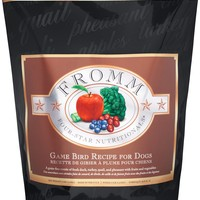 Fromm Four-Star Nutritionals Grain-Free Game Bird Recipe Dry Dog Food, 26-lb bag