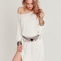 Free People Womens Merin Stone Belt