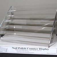 Nail Polish Table Rack Display (Hold Up To 60 Bottles)