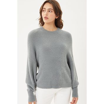 CREWNECK LONG SLEEVE SWEATER (1L9952WH0) NEW