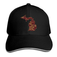 Eternal Central Michigan University Sandwich Peaked Baseball Cap