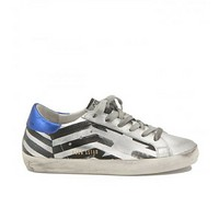 Golden Goose Deluxe Brand Metallised Leather Sneakers