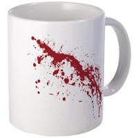 Red Blood Splatter Mug