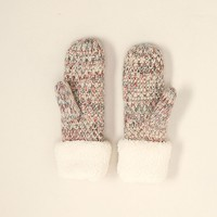 Rainbow Knit Mittens