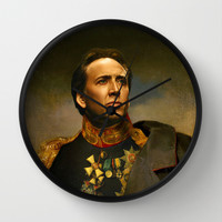 Nicolas Cage - replaceface Wall Clock by Replaceface