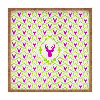 Bianca Green Oh Deer 2 Square Tray