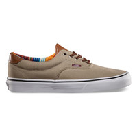 Vans C&L Era 59 Mens Shoes Dune/Multi Stripe  In Sizes