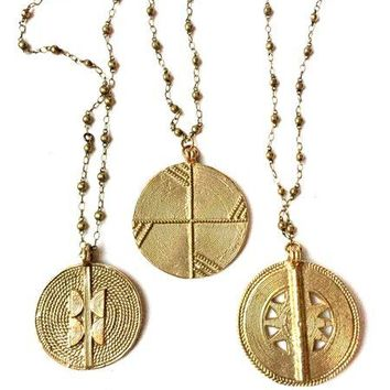 AFRICAN SYMBOL CHARM NECKLACES