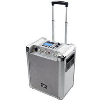 Portable PA System With USB/SD DJ Controls And Aux Inputs