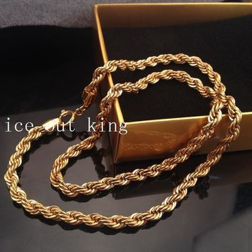 Shiny New Arrival Stylish Jewelry Gift Alloy Hip-hop Club Twisted Necklace [6542720643]