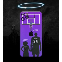 MAMBA // Purple - Non-Profit Memorial Skin-Kit compatible with the Apple iPhone 12, 12 Pro Max, 12 Mini, 11 Pro or 11 Pro Max (All iPhones Available) (All iPhone versions available)