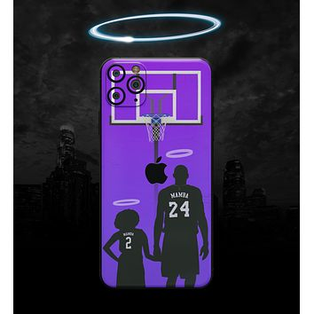 MAMBA // Purple - Non-Profit Memorial Skin-Kit for the Apple iPhone 11, 11 Pro or 11 Pro Max (All iPhone versions available)