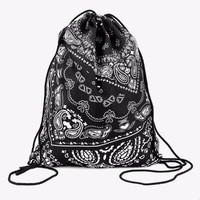 Bandana Print Festival Backpack