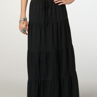 AEO 's Tiered Maxi Skirt