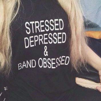 Band Obsessed Tee