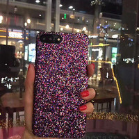 Girl's Fashion Luxury Bling Sparkle Glitter Case Cover for iPhone 6/6S/7 Plus