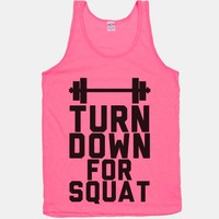 Turn Down For Squat