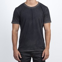Crew Neck Tee - Charcoal | Hand Crafted Denim Jeans | Collection | Hand Crafted Denim Jeans | Mens