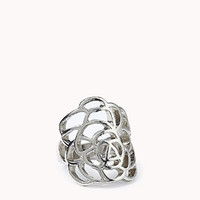 Cutout Floral  Ring