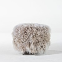 TIBETAN LAMB POOF LIGHT GREY TIP by OUTPOST ORIGINAL