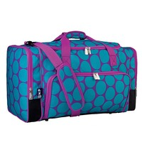 Wildkin Big Dots Weekender Duffel Bag - Kids (Purple)