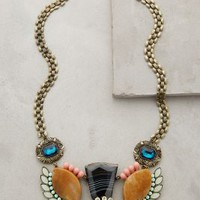 Norrland Necklace by Jill Schwartz Blue Motif One Size Necklaces