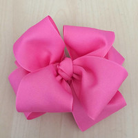 """Ashtyn Baby bow, Double stacked bows, Boutique hair bows, Infant bow, Hair bows for girls, Large hair bows, 4"""" double hairbow"""