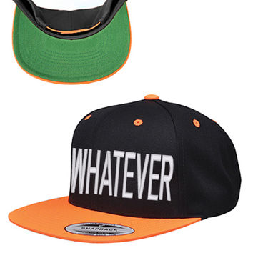 WHATEVER snapback hat