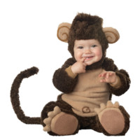 Infant Baby warm costume Animal Anime Cosplay  Bodysuit Toodler Pyjamas Thicken