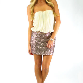 Shooting Star Dress - Ivory