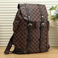 LV Louis Vuitton Hot Selling Large Capacity Backpacks Men and Women Travel Backpacks School Bags