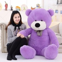 Kawaii Genuine 100CM Hug Teddy Bear Urso De Pelucia Plush Stuffed Animal Dolls Kids Toys Brinquedos Teddy Bear Girlfriends Gift