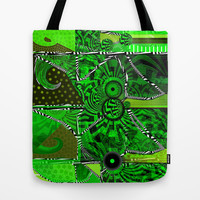 Patchwork by Florencia Mittelbach Tote Bag by Florencia Mittelbach Marenco