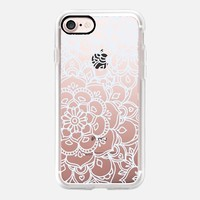 White Lace Doodle iPhone 7 Case by Micklyn Le Feuvre | Casetify