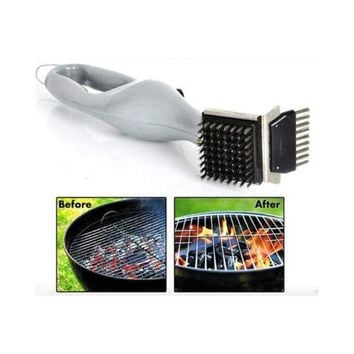 BBQ Cleaning Brush Stainless Steel Barbecue Grill Cleaner with Power of Steam