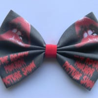 The Rocky Horror Picture Show Inspired Classic Hair Bow or Clip on Bow Tie
