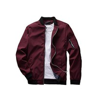 Men's Slim Fit Lightweight Jacket